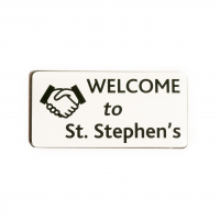 , Welcome Badge 1 | Church Badges