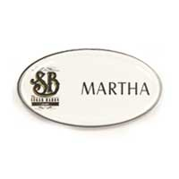 Oval, CLB014 | Corporate Logo & Name Badges