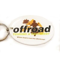 Oval, KR004 | Flexi Key Rings