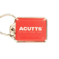 Rectangular Metal, KR008 | Metal Key Rings