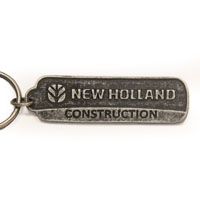 Metal Rectangle, KR011 | Cast Moulded Metal Key Rings