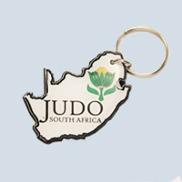 Shaped Map, KR007 | Metal Key Rings