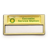 Gold Re-usable, RB010 | Reusable Badges & Conference Card Holders