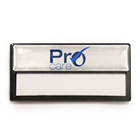 Black Re-usable, RB013 | Reusable Badges & Conference Card Holders