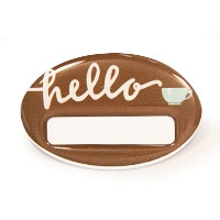 Full Dome Oval, RB015 | Reusable Badges & Conference Card Holders