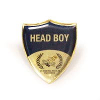 Metal Shield, SCH035 | Club & School Badges